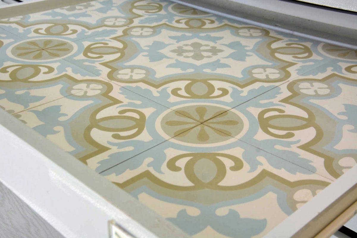 אריחי בטון דגם כרמל 3 ענבל אריחים מצוירים
