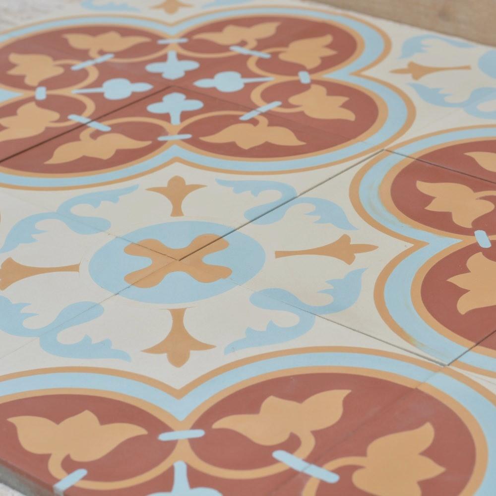 אריח בטון מעוטר-1 ענבל אריחים מצוירים