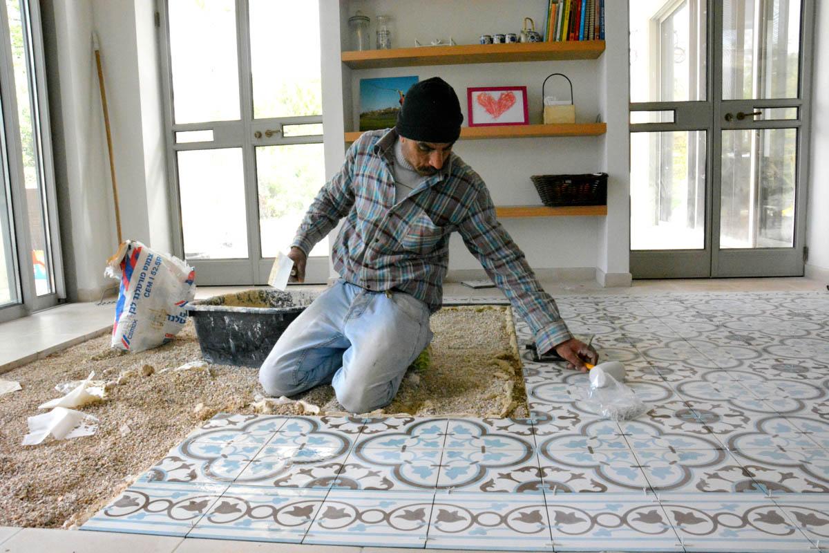 רצפה-מצוירת-רצף אומן