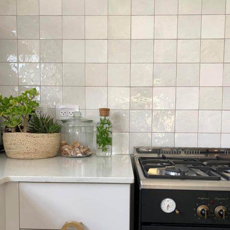 קרמיקה למטבח דגם artisan white