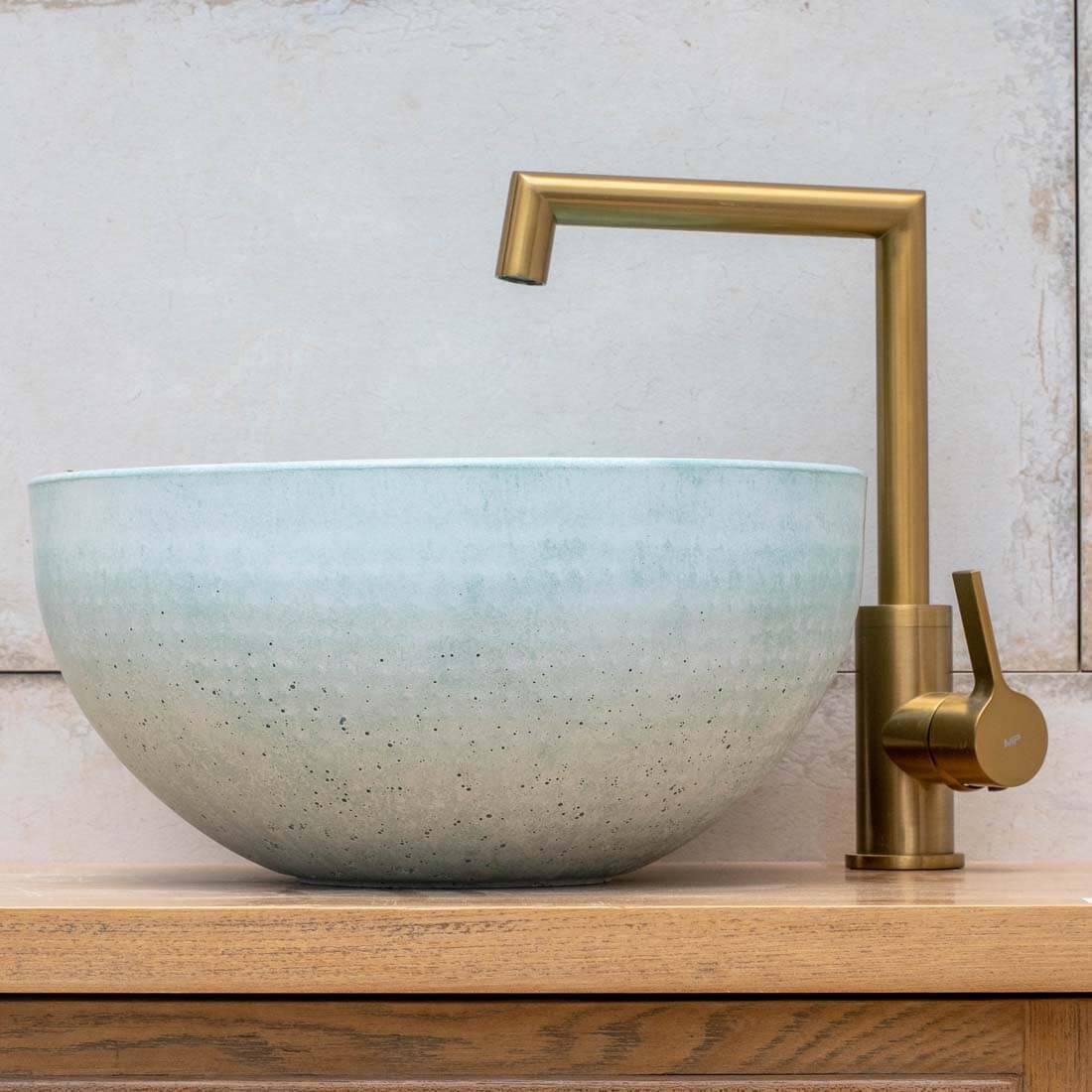 ברז אמבטיה - ברבור בונטון מרובע