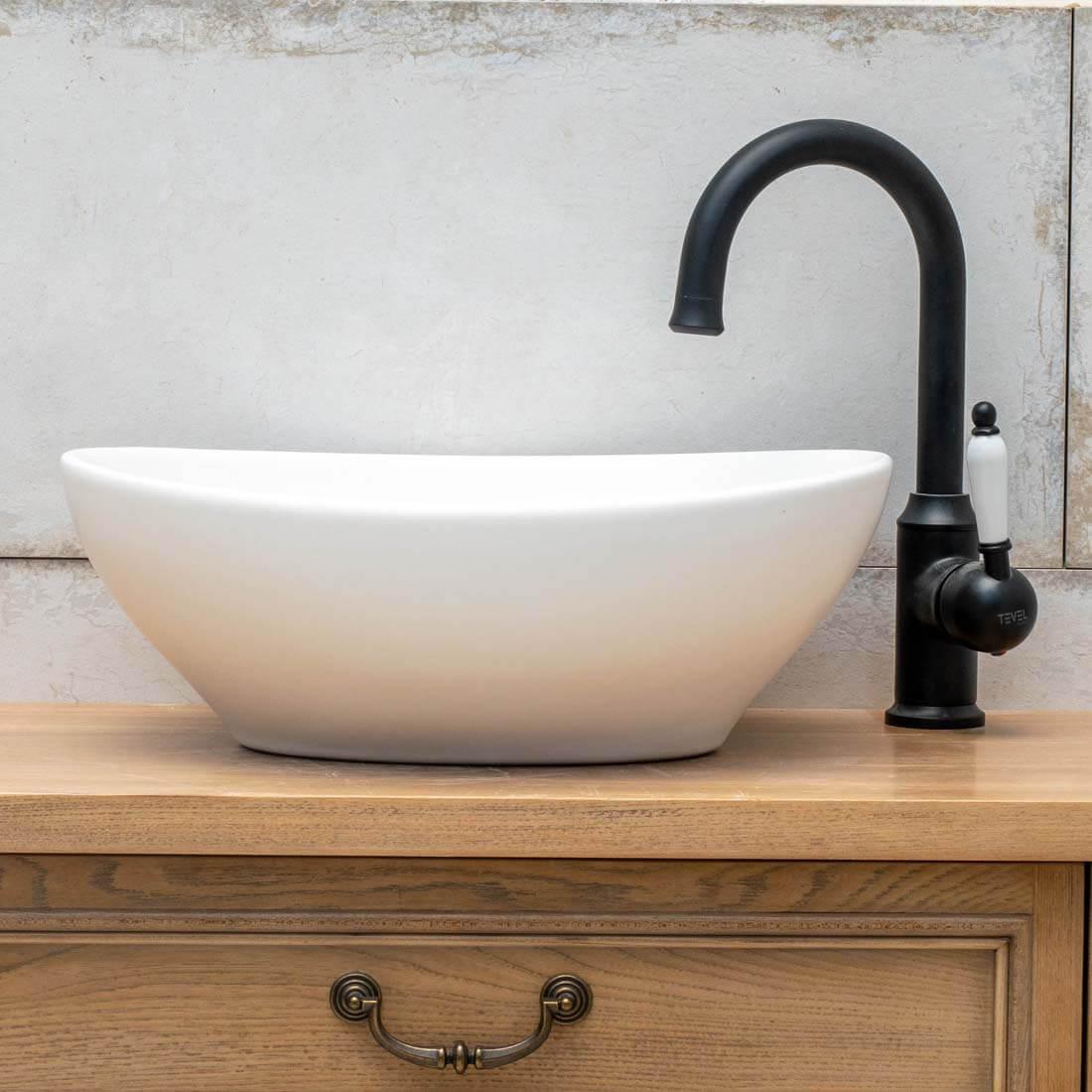 ברז אמבטיה - ברז ברבור ליסבון
