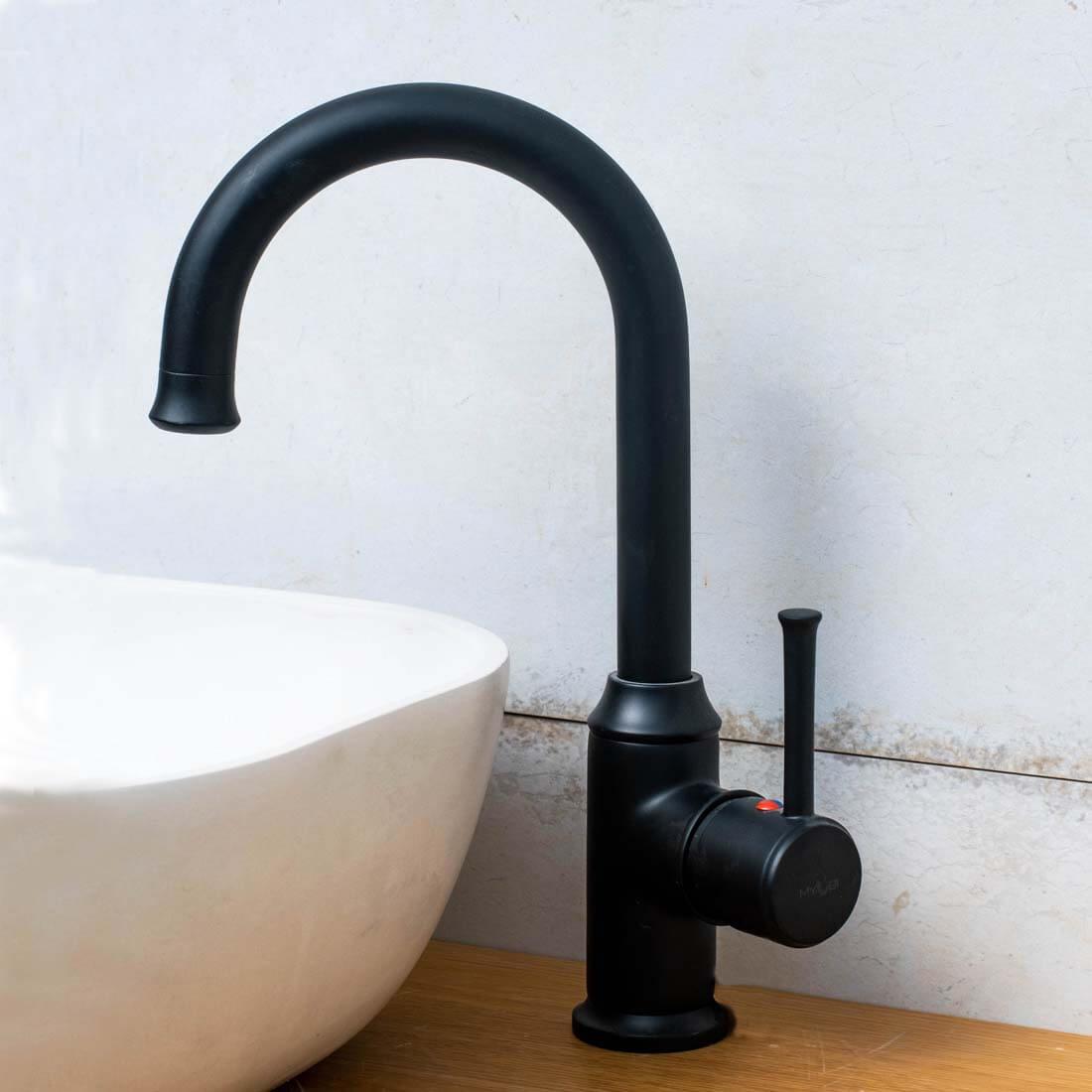 ברז אמבטיה - ברבור פלטין שחור