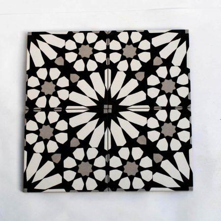 אריחים שחור לבן