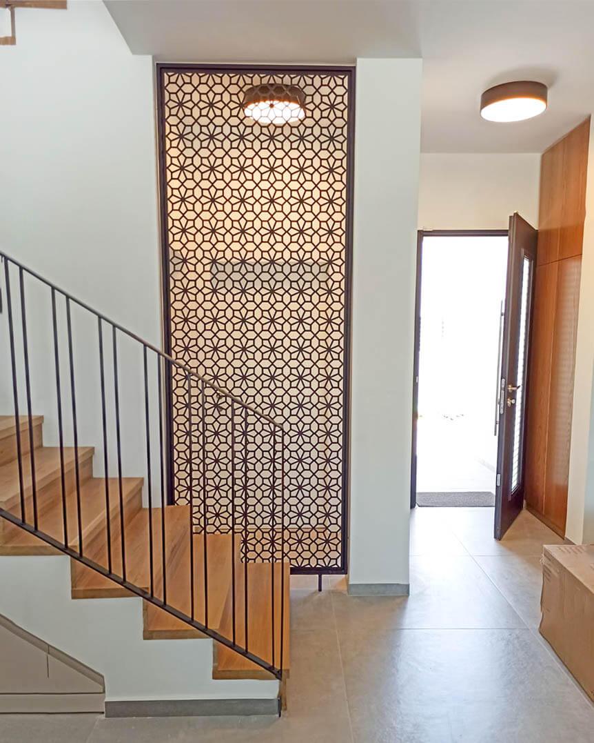 משרביה דגם סנטוריני בסלון